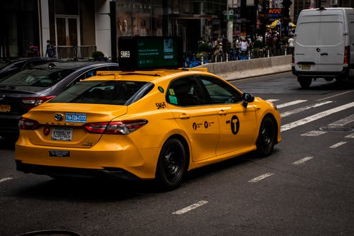 Yellow Taxi on City Road