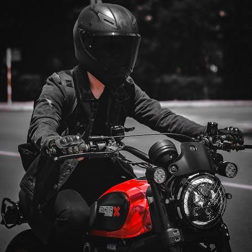 Fotobanka sbezplatnými fotkami na tému bezpečnosť, bicykel, brnenie