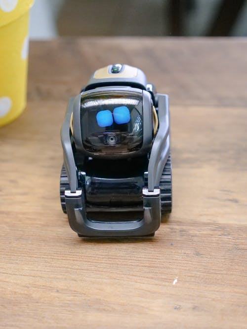 High Angle Shot of Black Miniature Toy