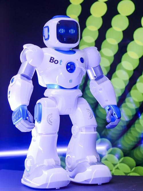 Full Shot Toy Robot
