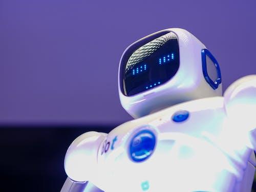 Low Angle Shot of Robot