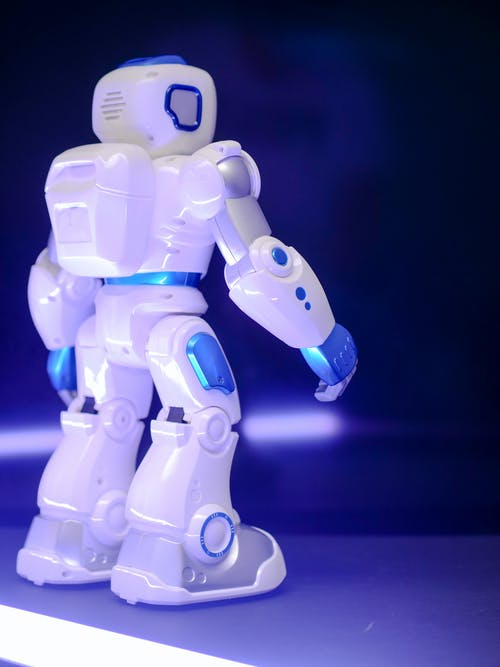 Backview Photo of a Robot Toy