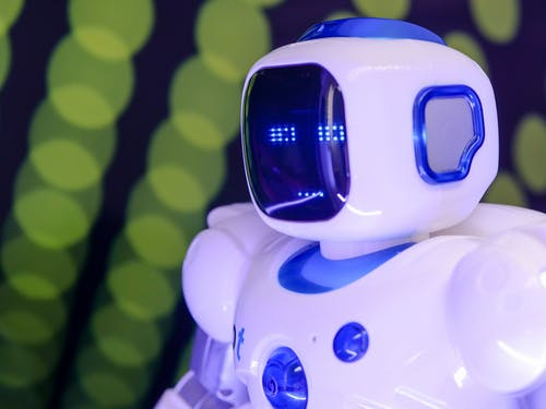 Close Up Photo of Toy Robot