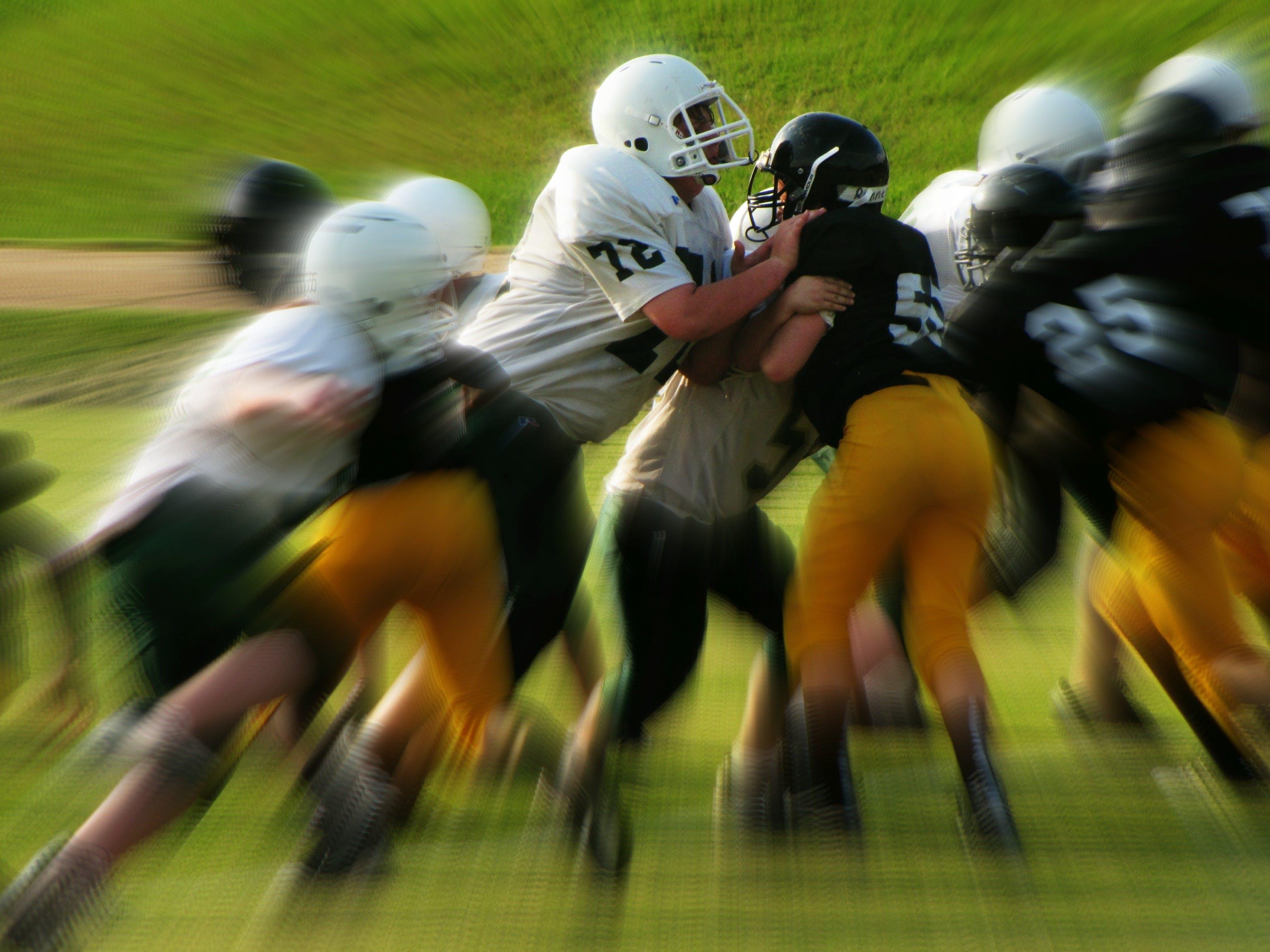 Foto d'estoc gratuïta de acció, atletes, equip, esport