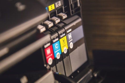 Free stock photo of brother, printer, close-up, depth of field