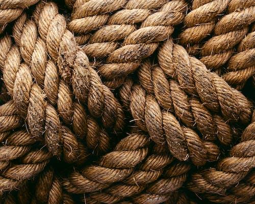 Základová fotografie zdarma na téma hnědá, lano, lodní lano