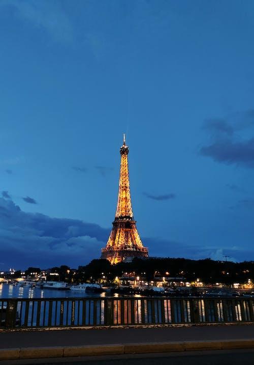 垂直拍摄, 巴黎, 旅行目的地 的 免费素材图片