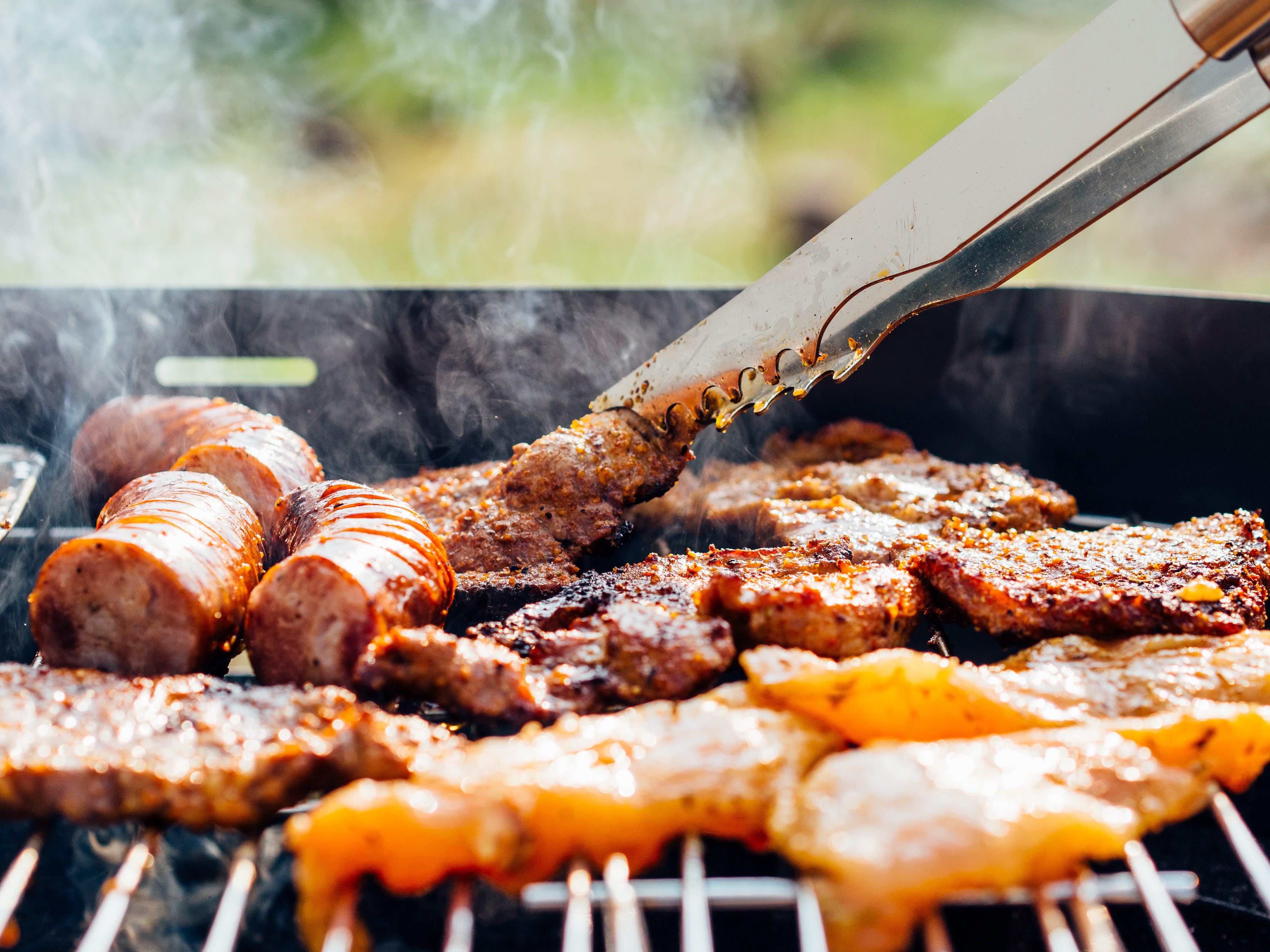 Fotos de stock gratuitas de a la barbacoa, almuerzo, carne, cena