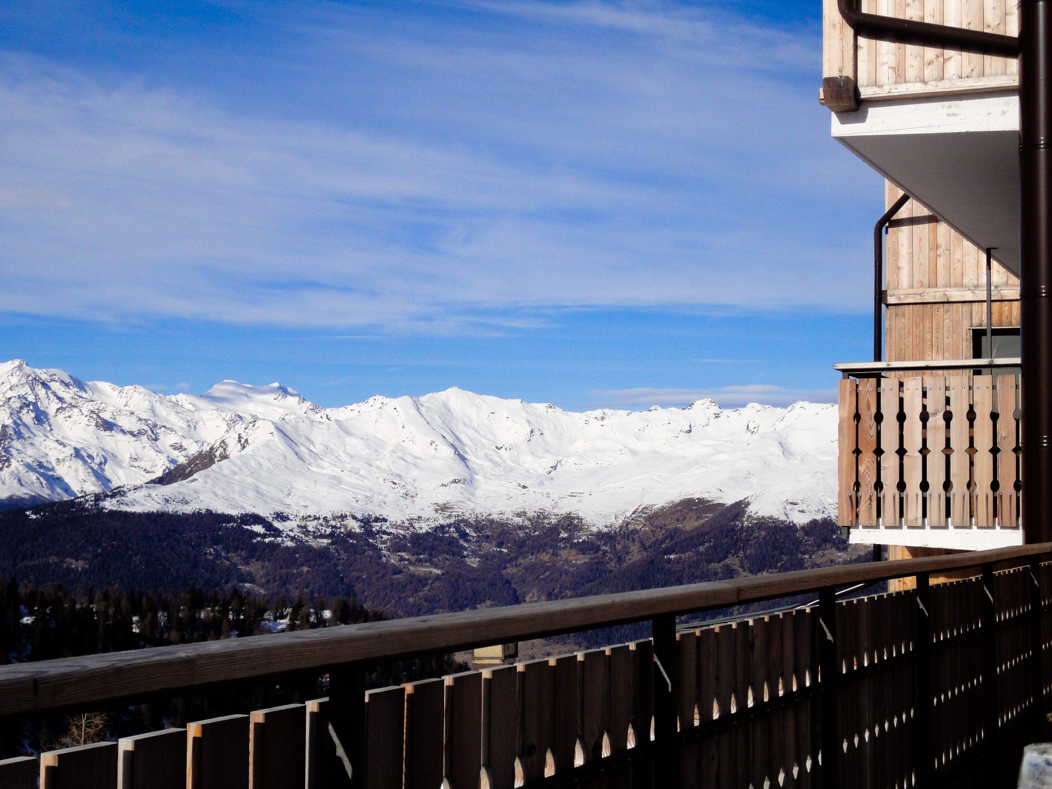 Free stock photo of snow, winter, mountain, top