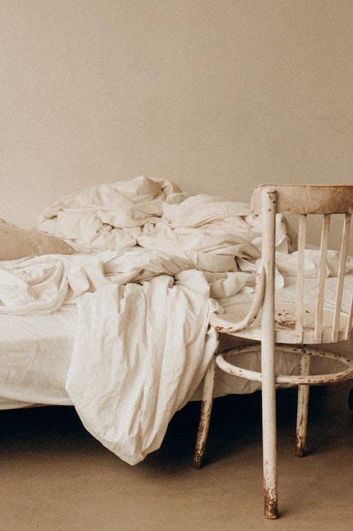 Immagine gratuita di accogliente, camera, coperta