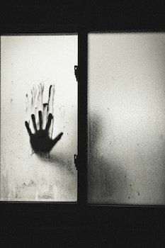 Free stock photo of black-and-white, hand, crime, horror