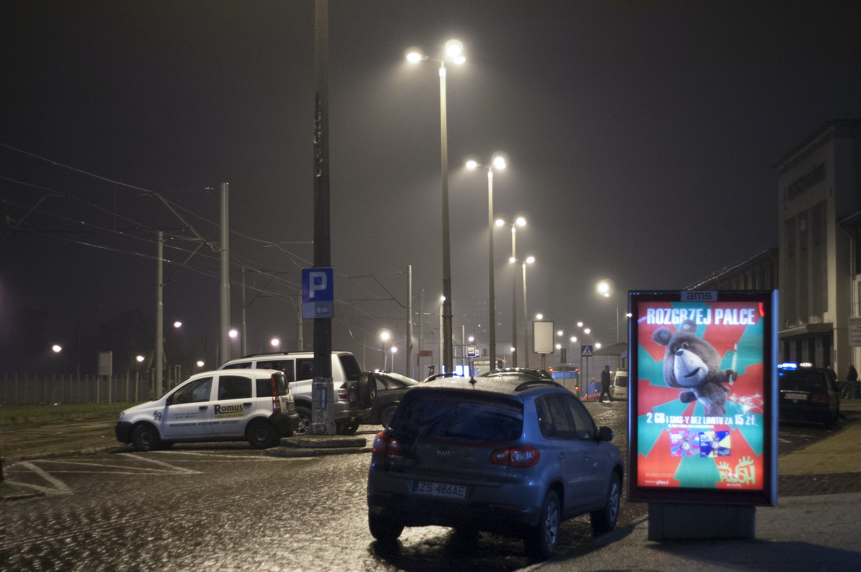 Free stock photo of night, train station, outdoors, szczecin