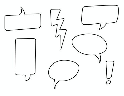 Free stock photo of bubble, chatting, communicate