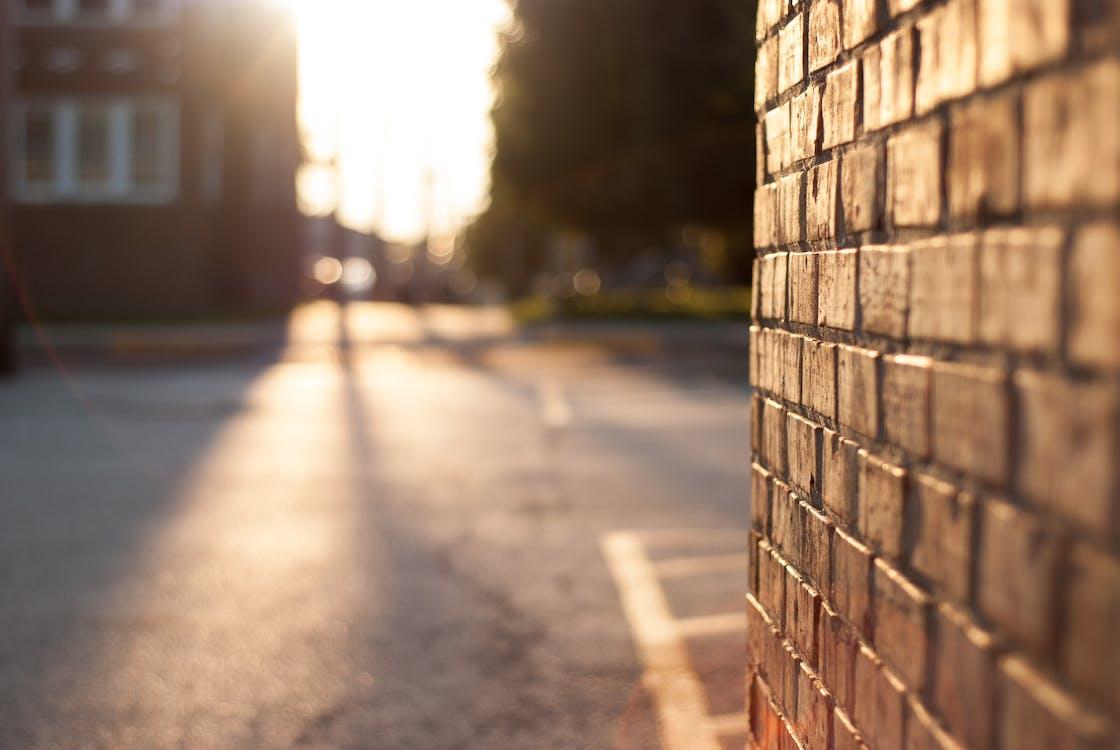 Close-up Photography of Brickwall