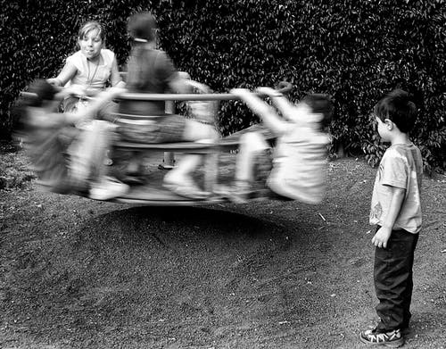 Kids Playing in The Playground