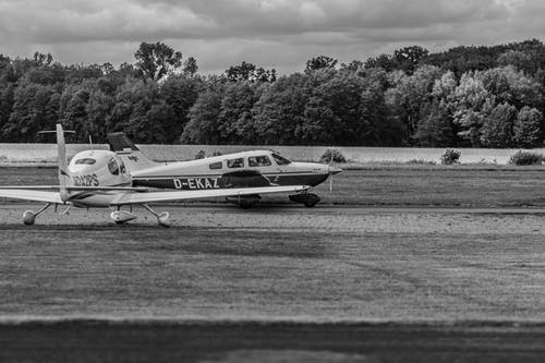 Single Engine Airplanes on the Runway