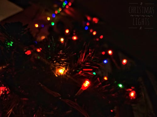 Fotos de stock gratuitas de luces de Navidad