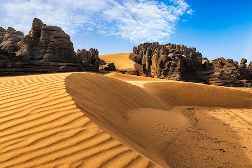 Beautiful Geological Formation in Sahara Desert