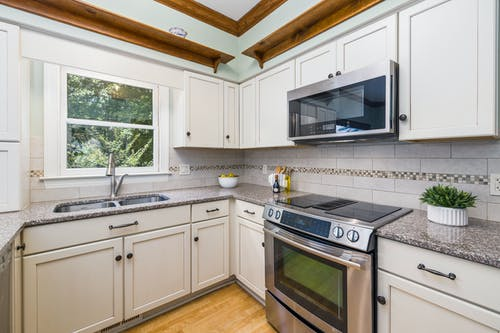 下沉, 厨房内饰, 厨房电器 的 免费素材图片