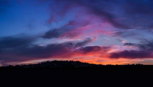 Free stock photo of beautiful sunset, colored background, sunrise