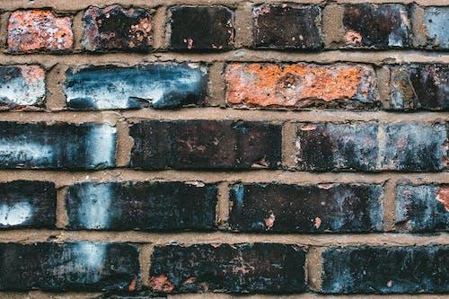 Darmowe zdjęcie z galerii z beton, brudny, ceglana ściana, ceglana tekstura