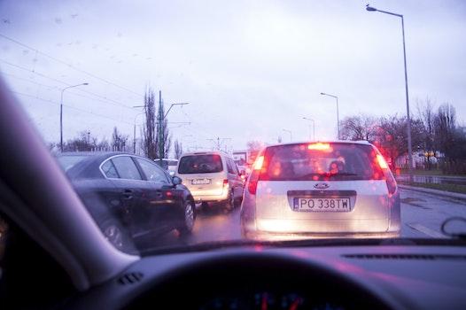 Free stock photo of city, cars, traffic