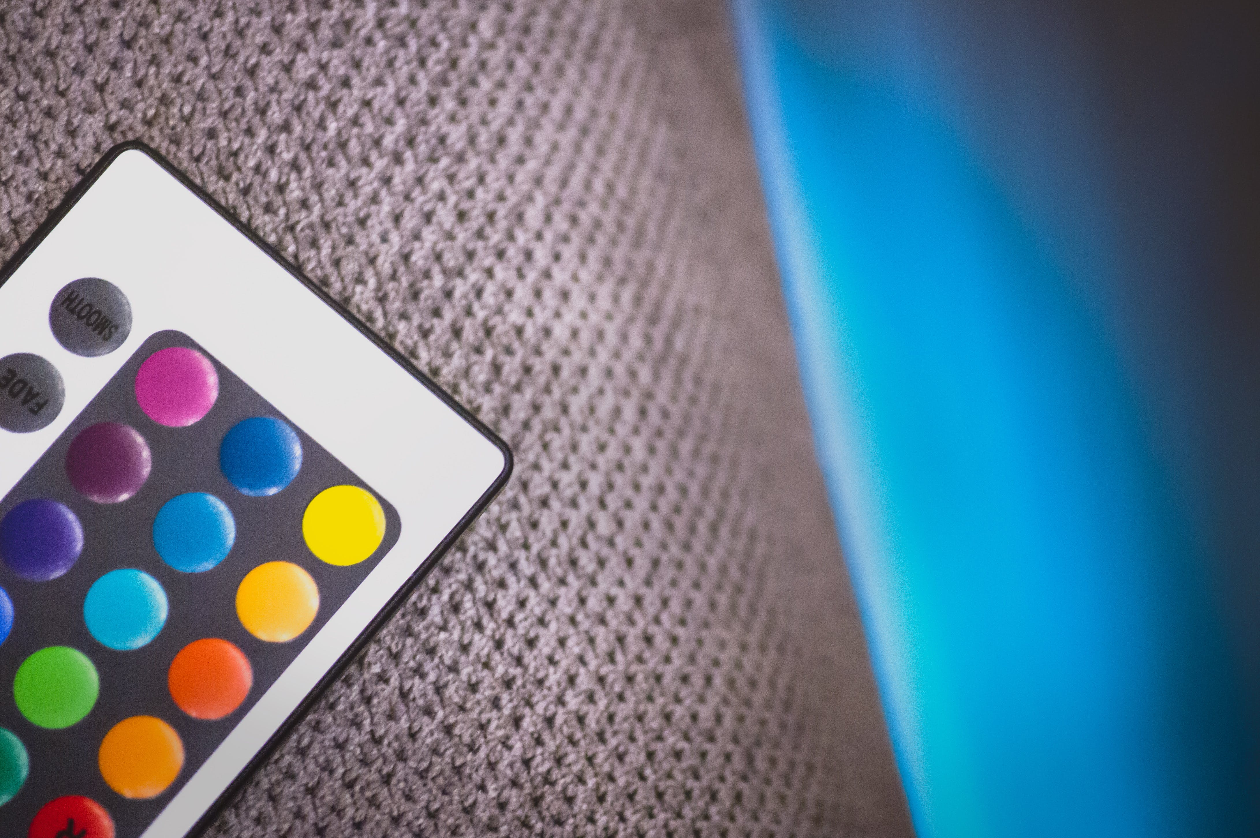 Free stock photo of blue, colors, fabric, furniture