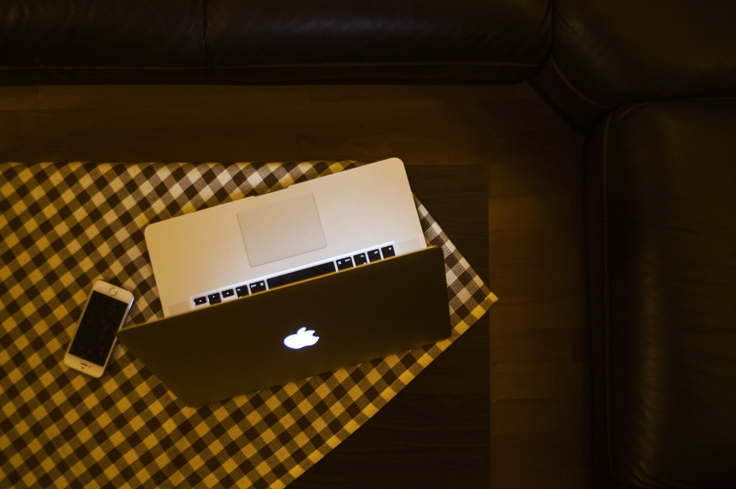 Free stock photo of night, apple, couch, chillout