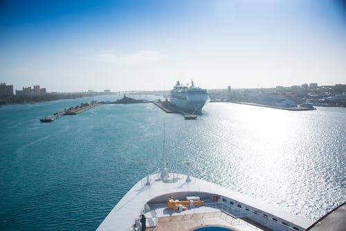 Foto profissional grátis de bahamas, cruzeiro, navio de cruzeiro, oceano