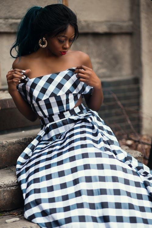 おしゃれ, ドレス, ファッション, ファッションモデルの無料の写真素材