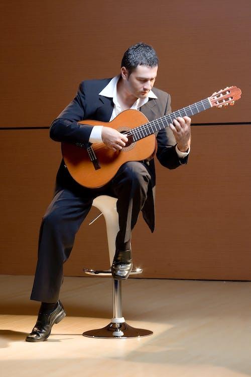 人, 儀器, 吉他 的 免費圖庫相片