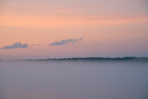 Hazy Atmosphere During Dusk