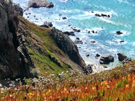 Kostenloses Stock Foto zu meer, landschaft, berge, natur