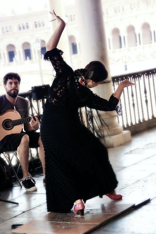 Gratis lagerfoto af danser, flamenco