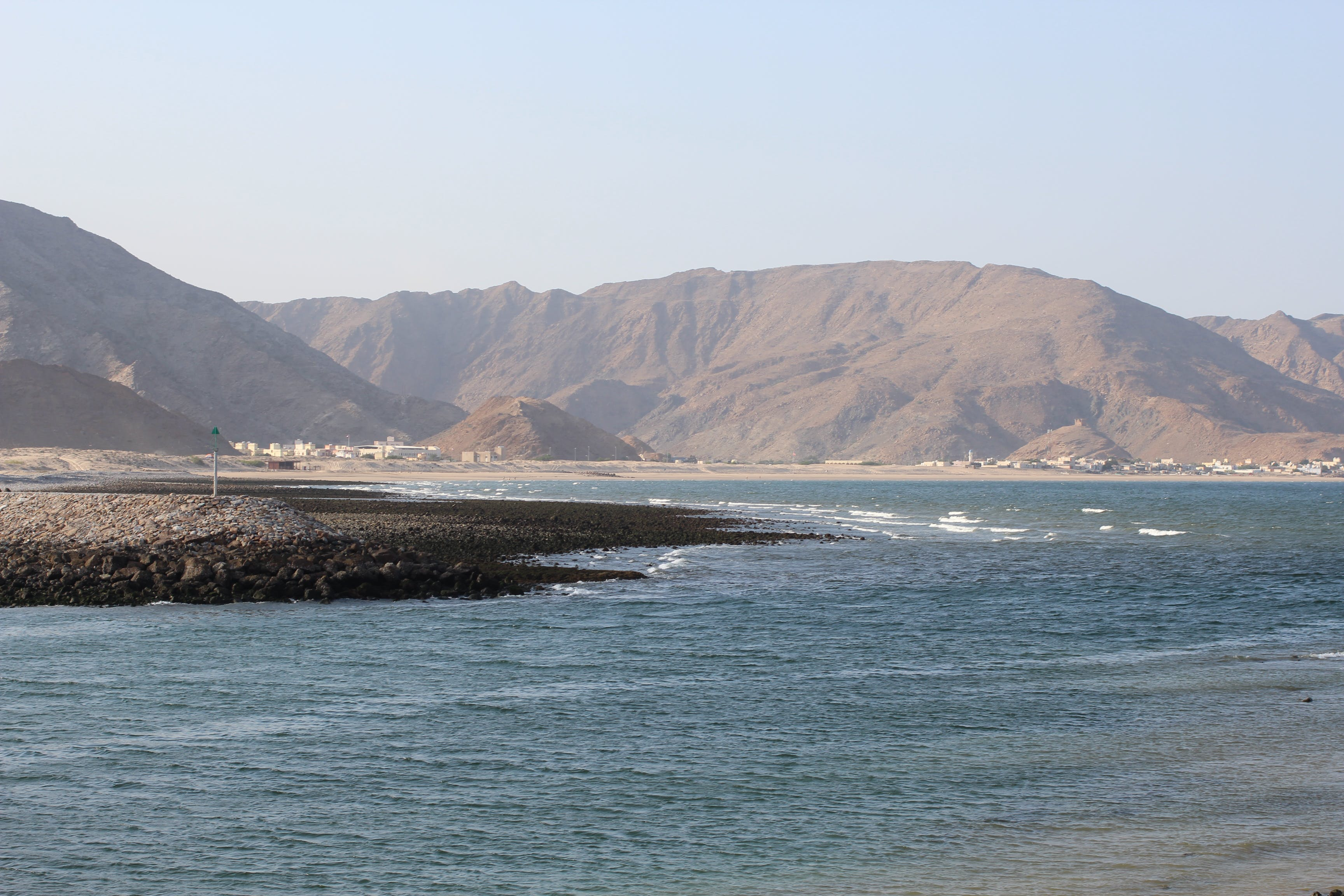 Free stock photo of beach, Jebel Sifa, maountain, ocean