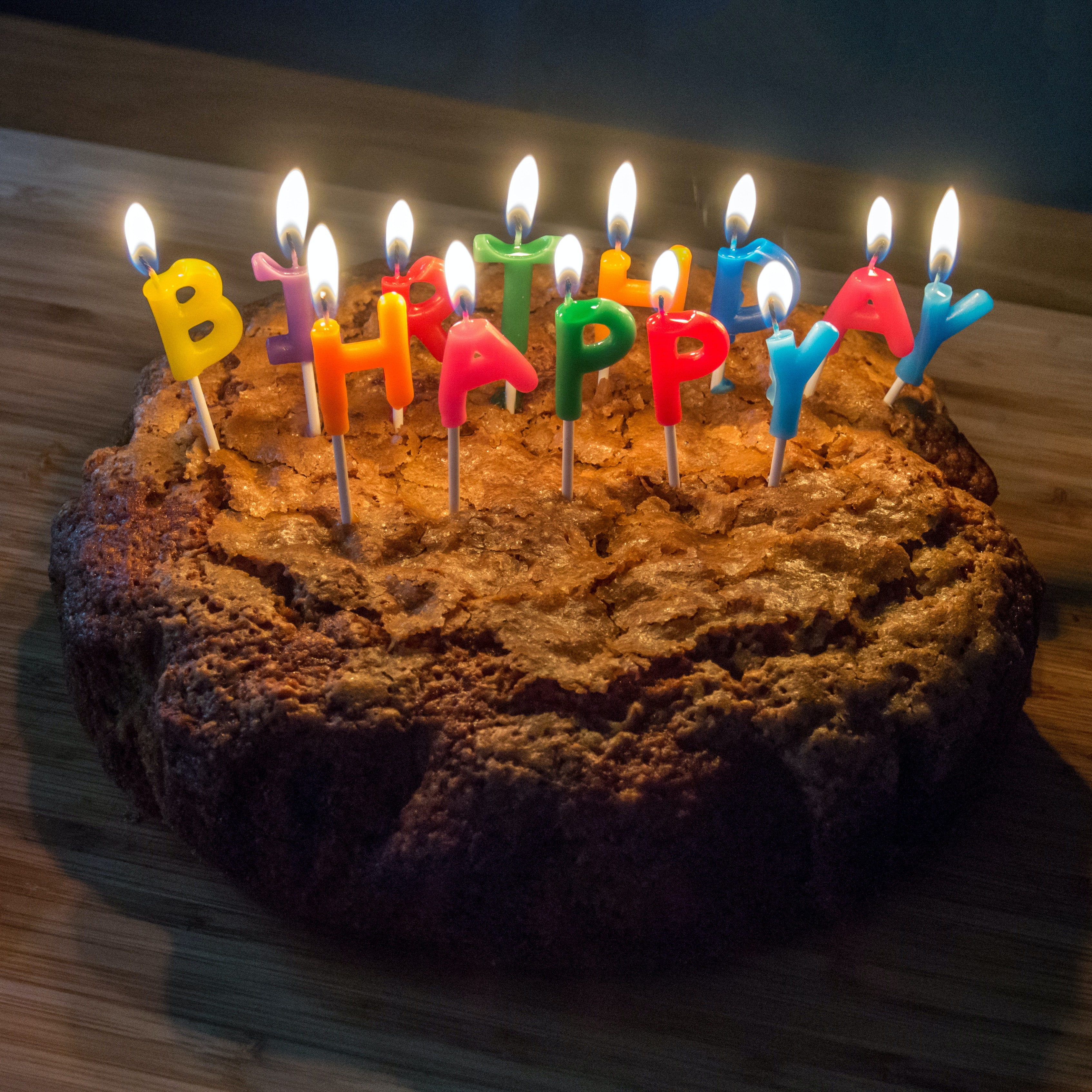 Free Stock Photo Of Birthday Cake Cake Candles