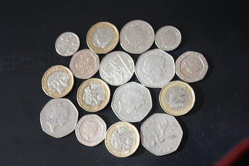 Бесплатное стоковое фото с английские деньги, Банк Англии пенни, банковская монета