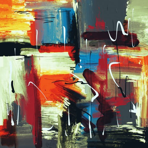 Gratis stockfoto met abstract, abstract expressionisme, abstract schilderij