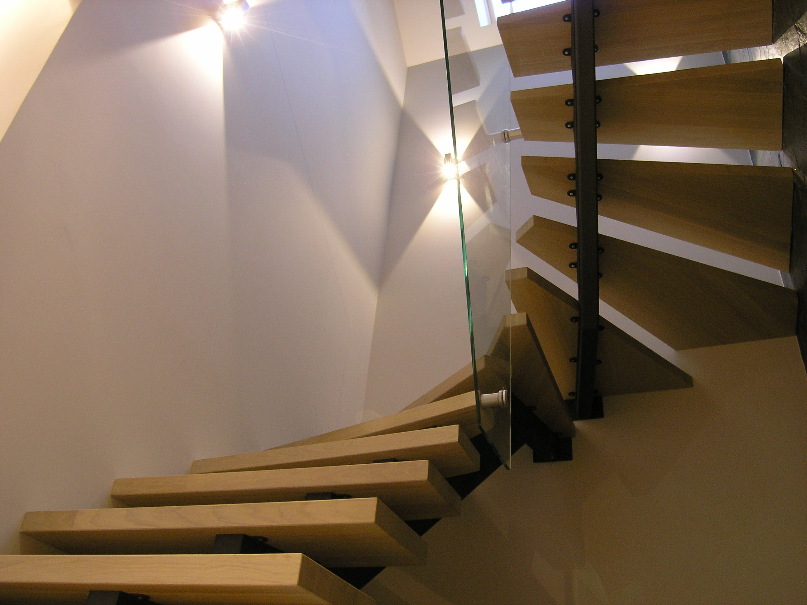 Free stock photo of stairs, light, space, interior