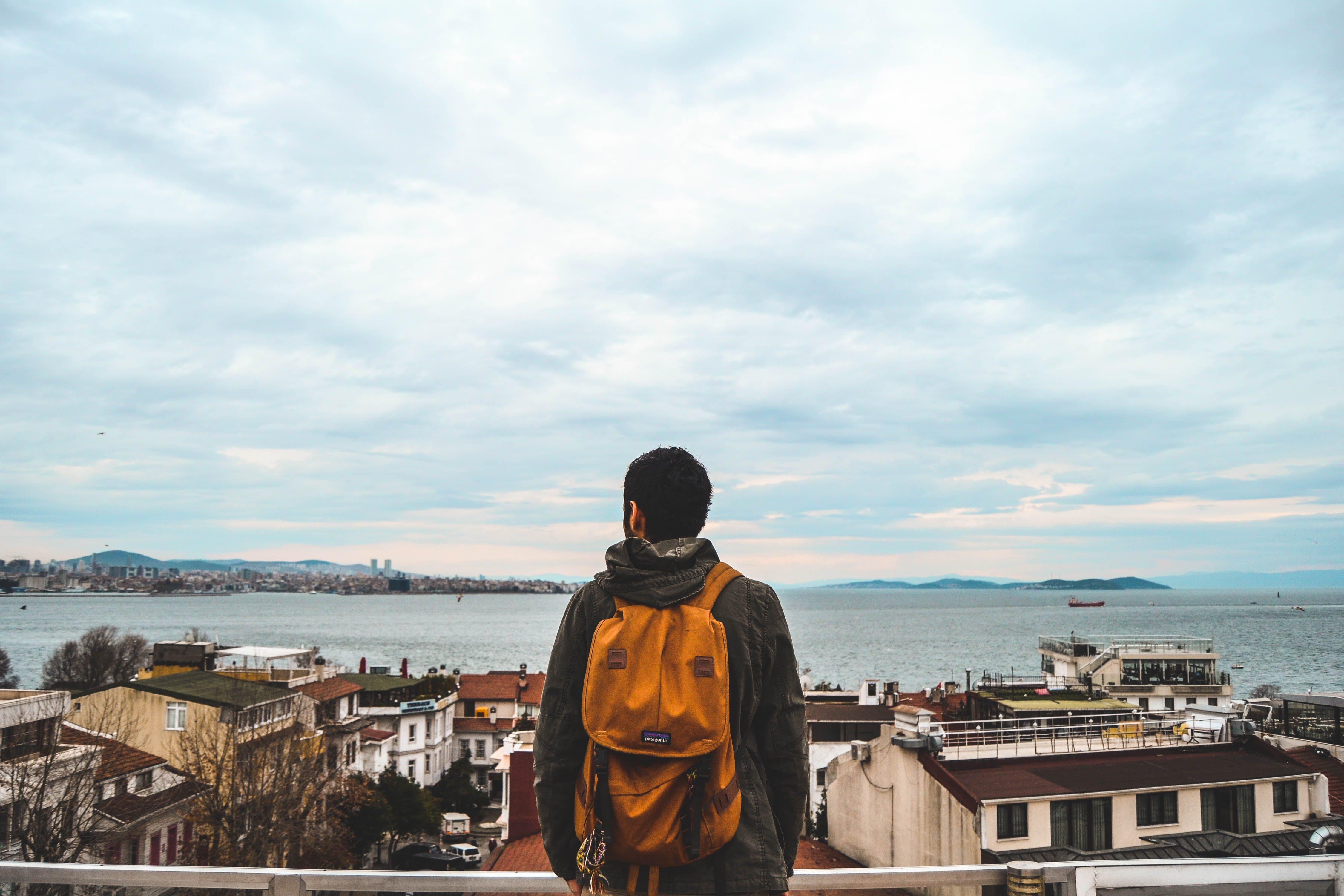 Gratis stockfoto met backpack, h2o, iemand, Istanbul