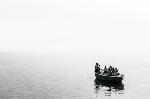 Photos gratuites de bateau, eaux calmes, inde