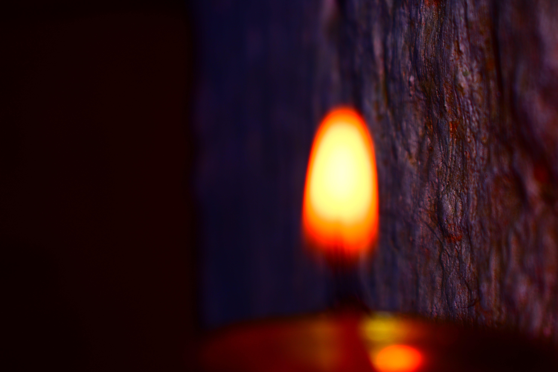 Free stock photo of #blur, #fire, #foucs, #lemp