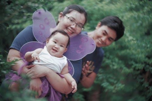 Free stock photo of asian family, family, happy family