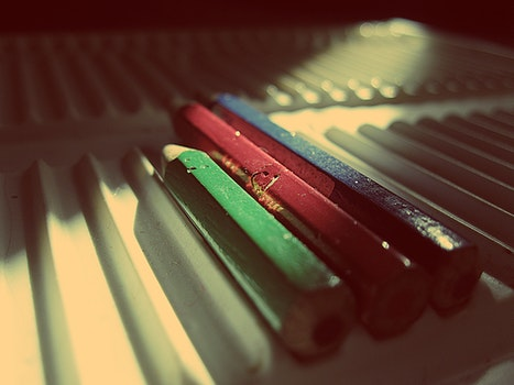 Free stock photo of rgb, color pencil