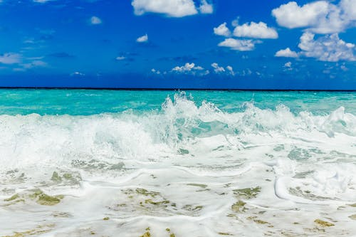 岸邊, 招手, 水, 海 的 免费素材照片