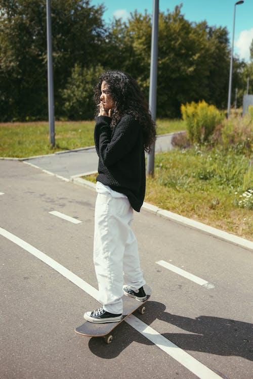 アフリカ系アメリカ人, シガレット, スケーターの無料の写真素材