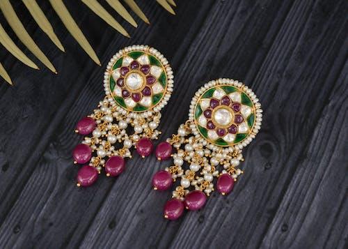 Free stock photo of beautiful, beautiful background, earring