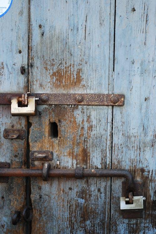 Free stock photo of door, door handle, rusty