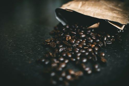 คลังภาพถ่ายฟรี ของ กาแฟ, คาเฟอีน, เมล็ดกาแฟ, เมล็ดกาแฟคั่ว