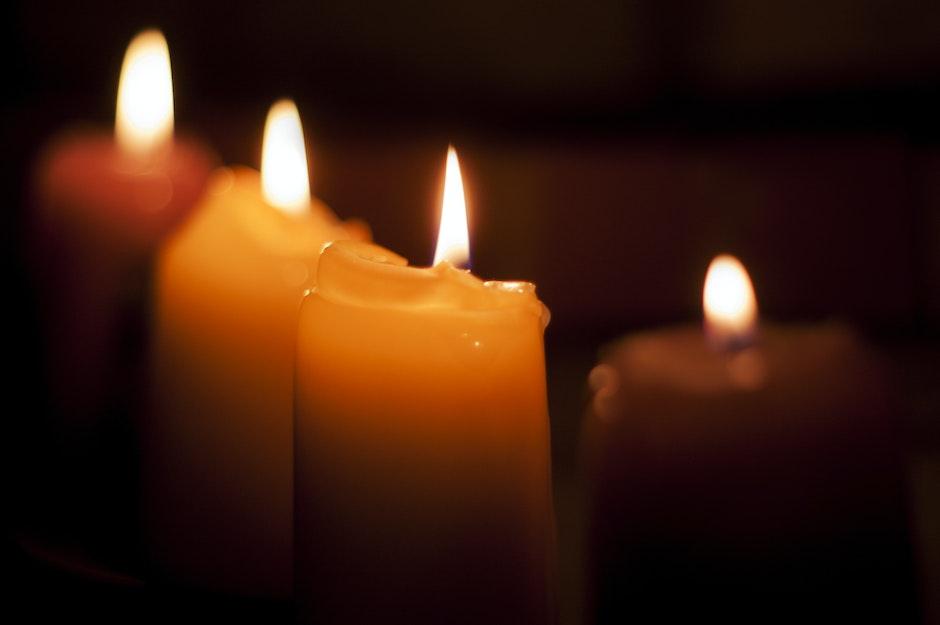 blackout, candles, dark